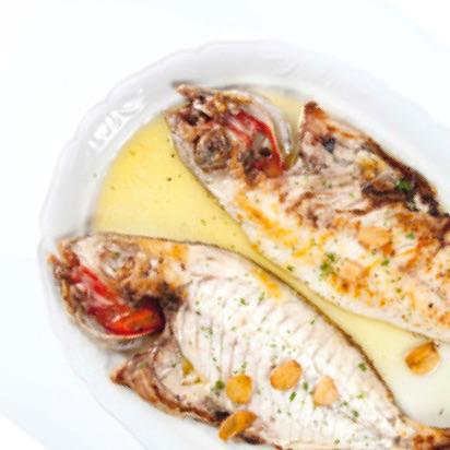 pescados frescos a la plancha